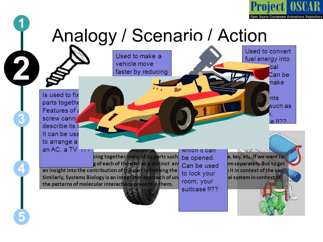 Analogy / Scenario / Action