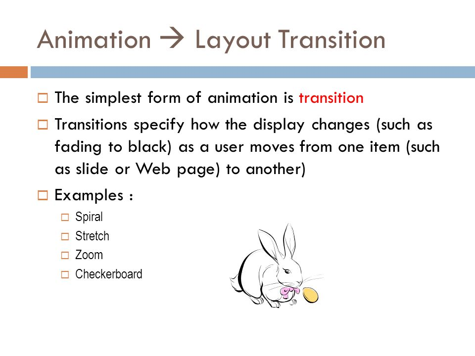 Animation  Layout Transition