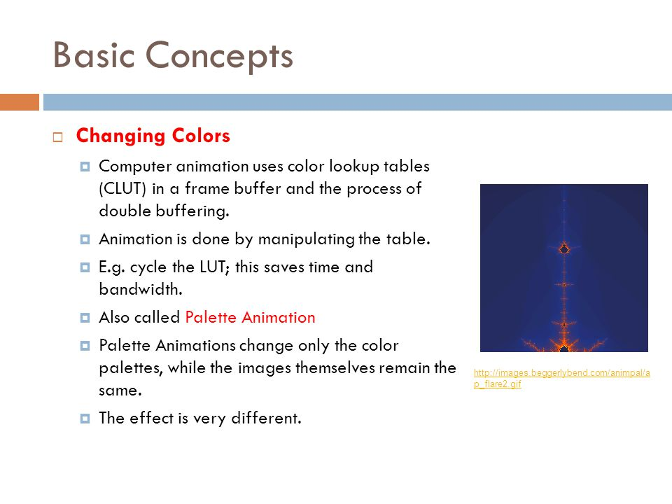 Basic Concepts Changing Colors