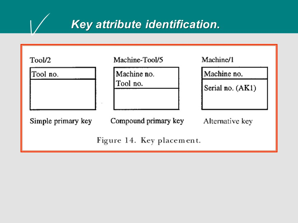 Key attribute identification.