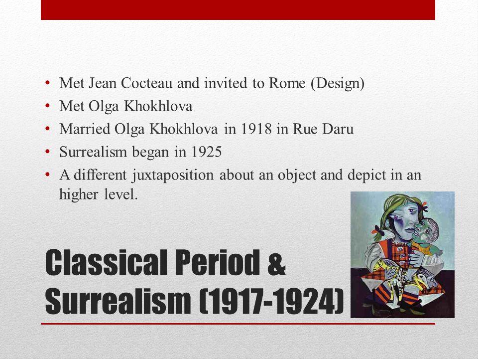 Classical Period & Surrealism (1917-1924)