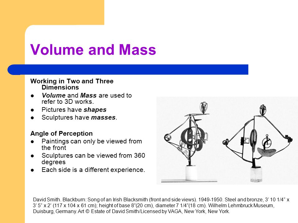 Volume and Mass Working in Two and Three Dimensions