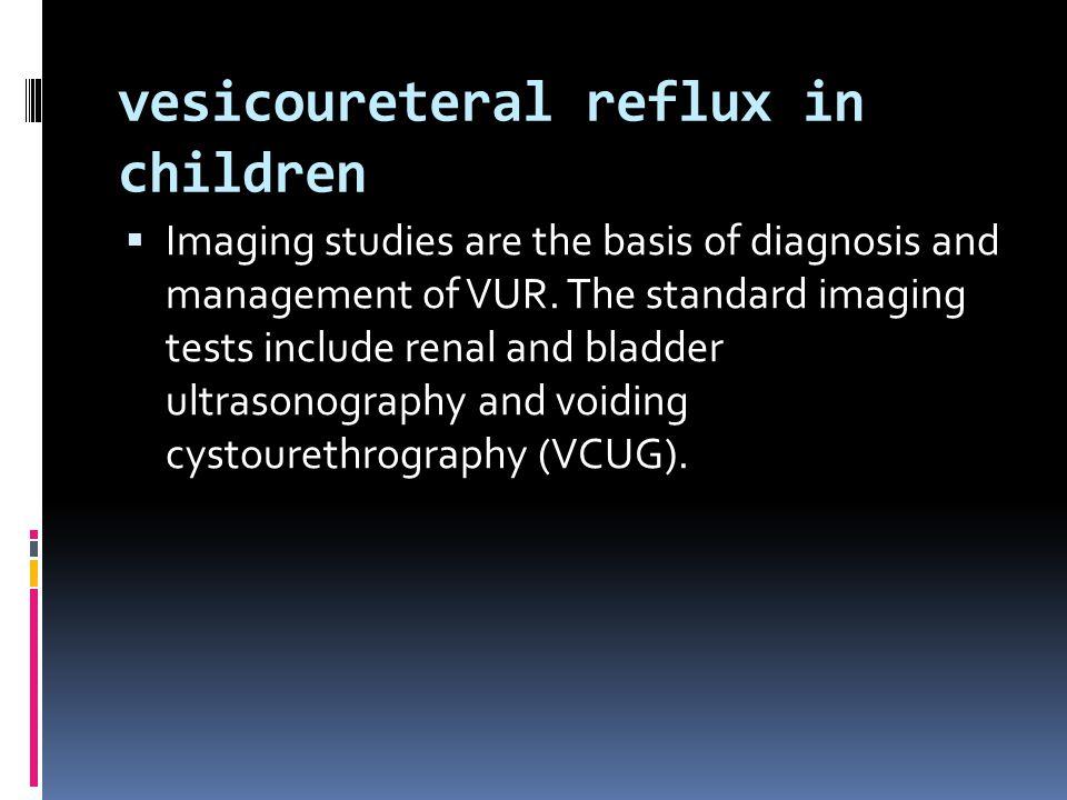 vesicoureteral reflux in children