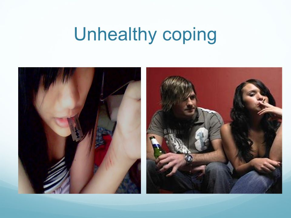 Unhealthy coping