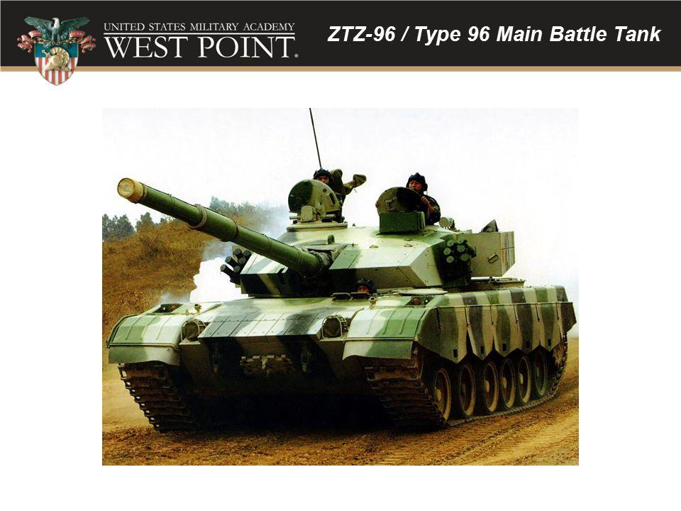 ZTZ-96 / Type 96 Main Battle Tank