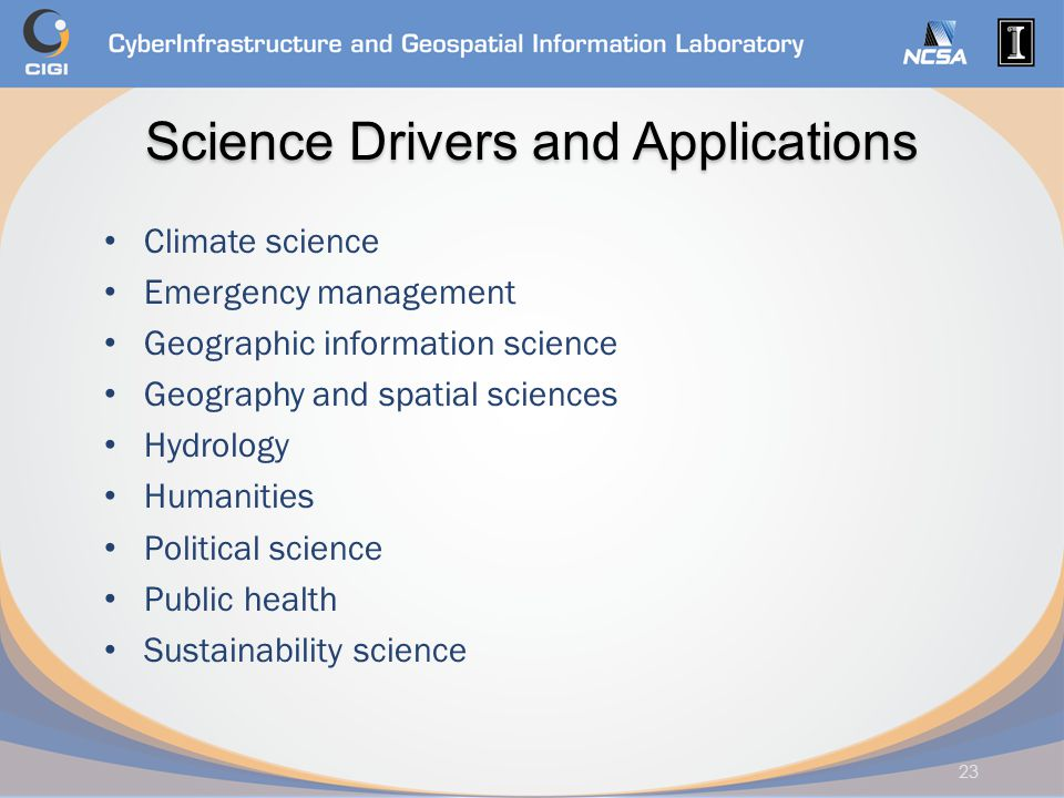 Science Drivers and Applications