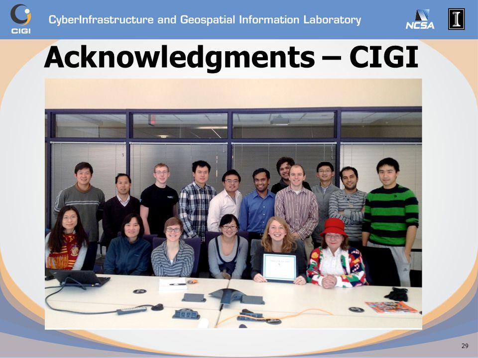 Acknowledgments – CIGI