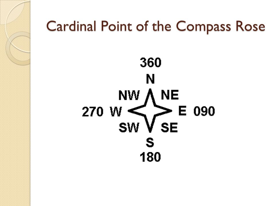 Cardinal Point of the Compass Rose