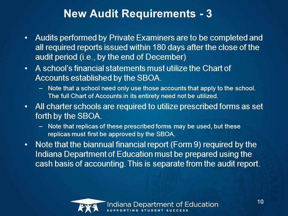 New Audit Requirements - 3