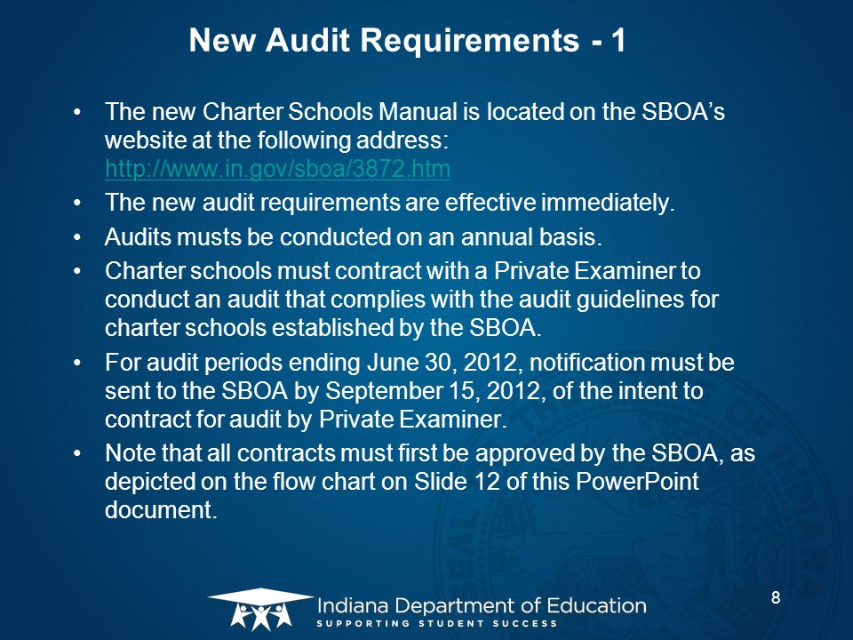 New Audit Requirements - 1