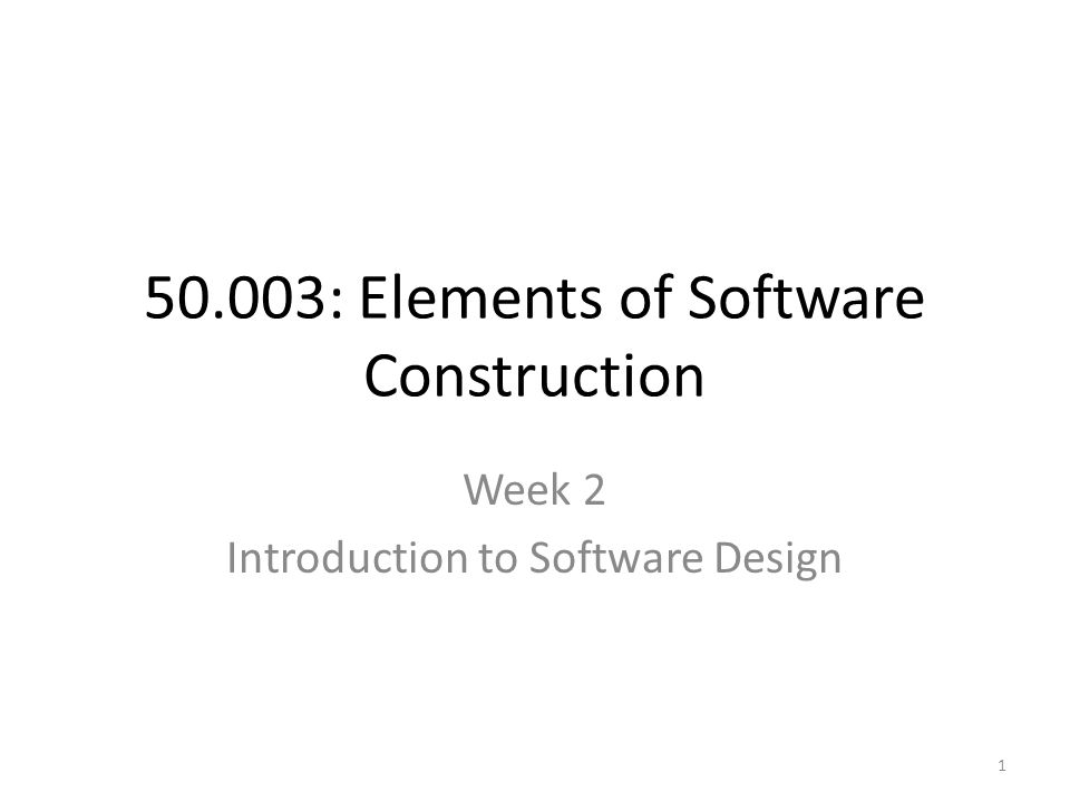 50.003: Elements of Software Construction