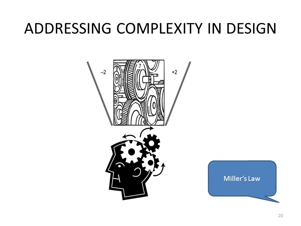 ADDRESSING COMPLEXITY IN DESIGN