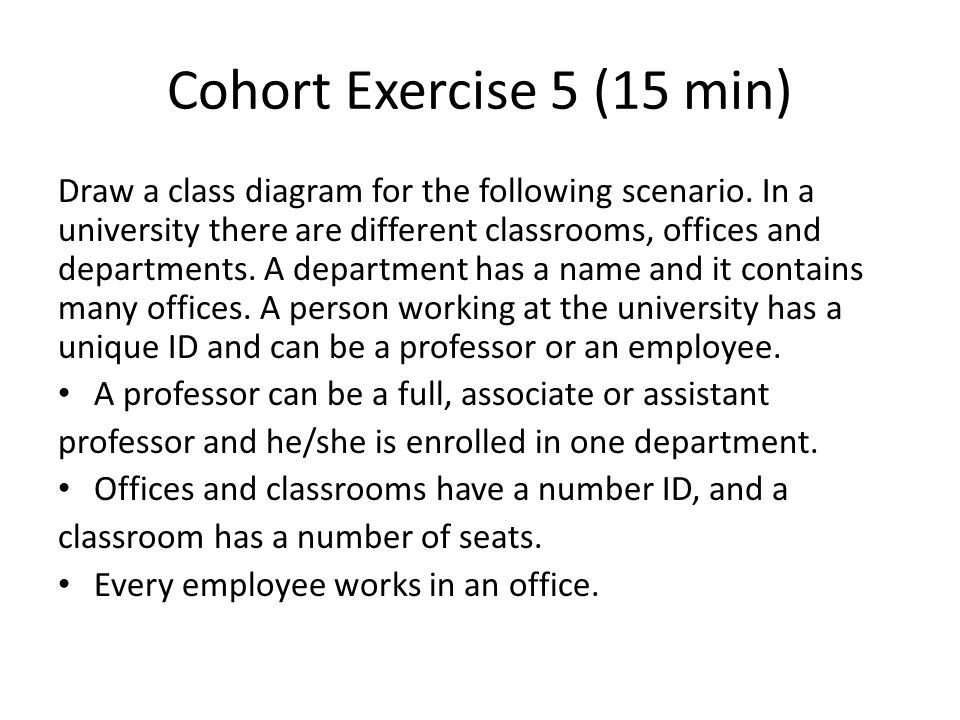 Cohort Exercise 5 (15 min)