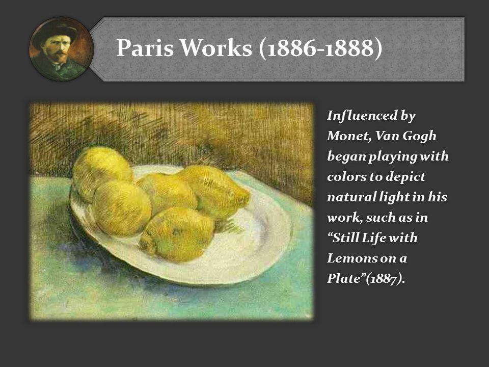 Paris Works (1886-1888)