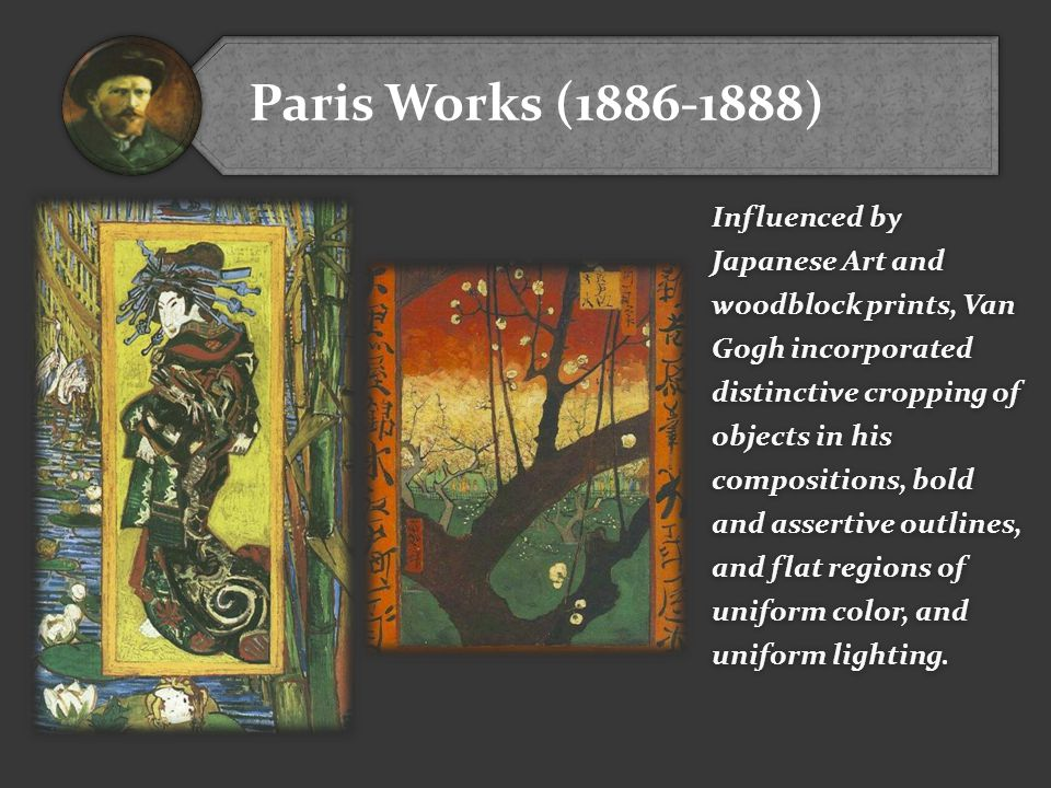 Paris Works (1886-1888)