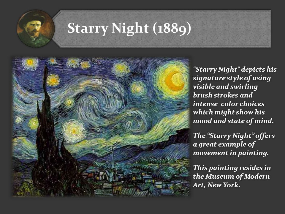 Starry Night (1889)
