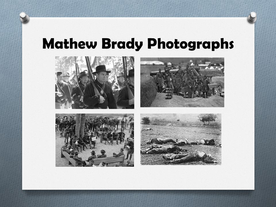 Mathew Brady Photographs