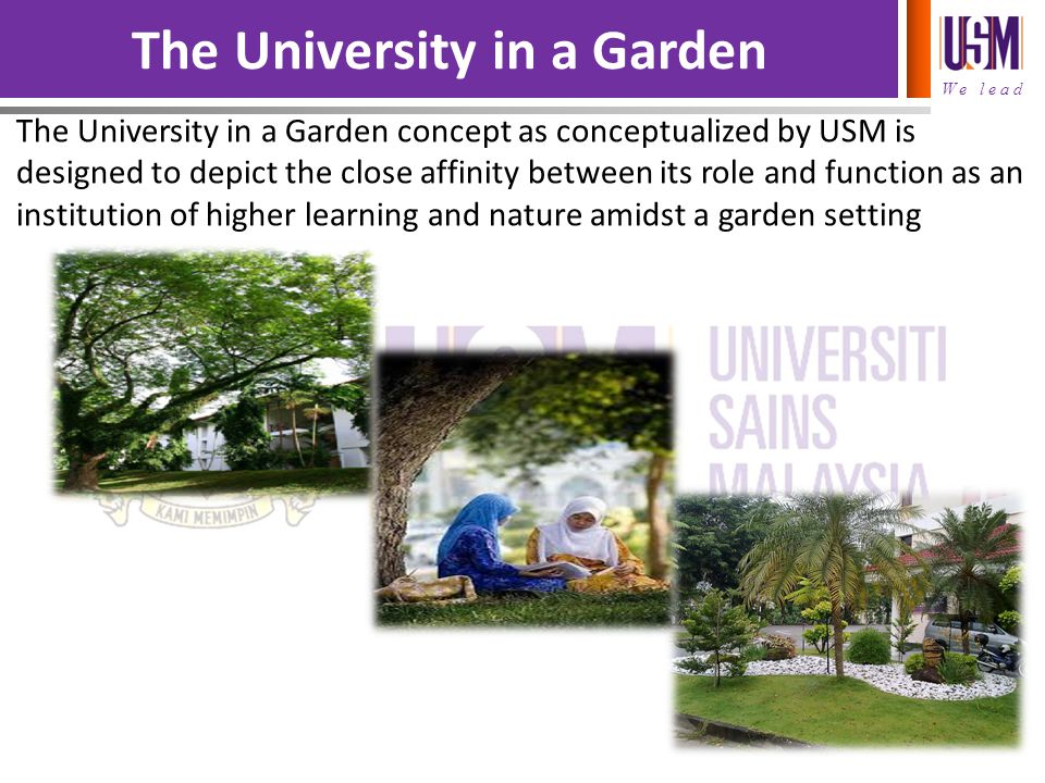 The University in a Garden