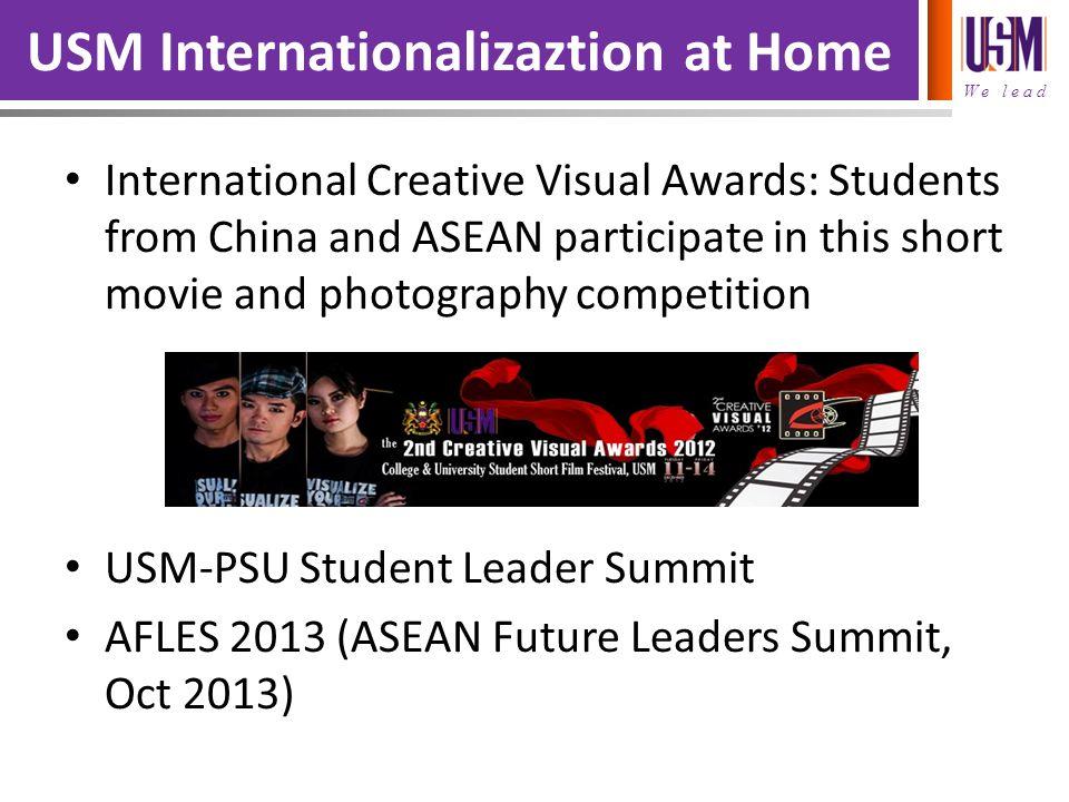 USM Internationalizaztion at Home