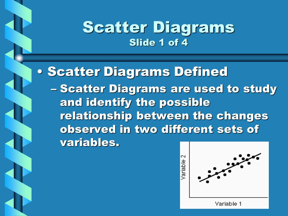Scatter Diagrams Slide 1 of 4