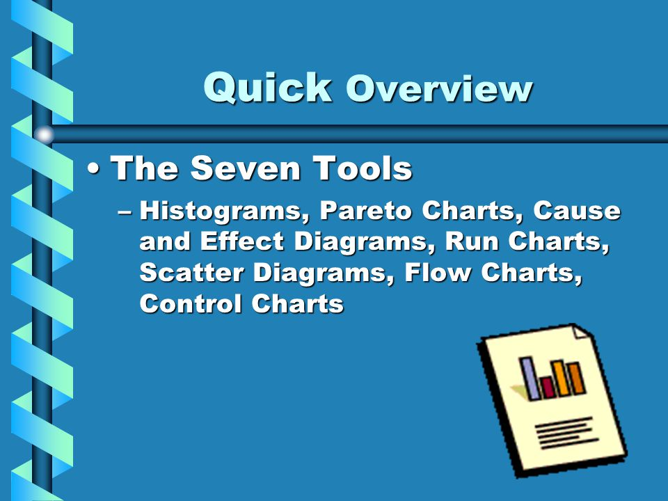 Quick Overview The Seven Tools