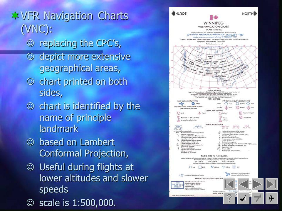 VFR Navigation Charts (VNC):