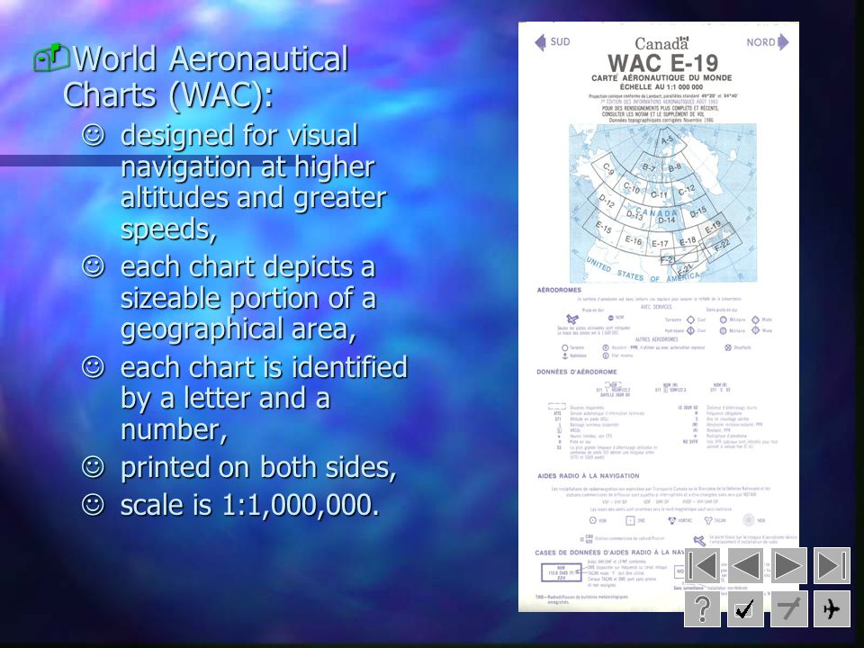World Aeronautical Charts (WAC):