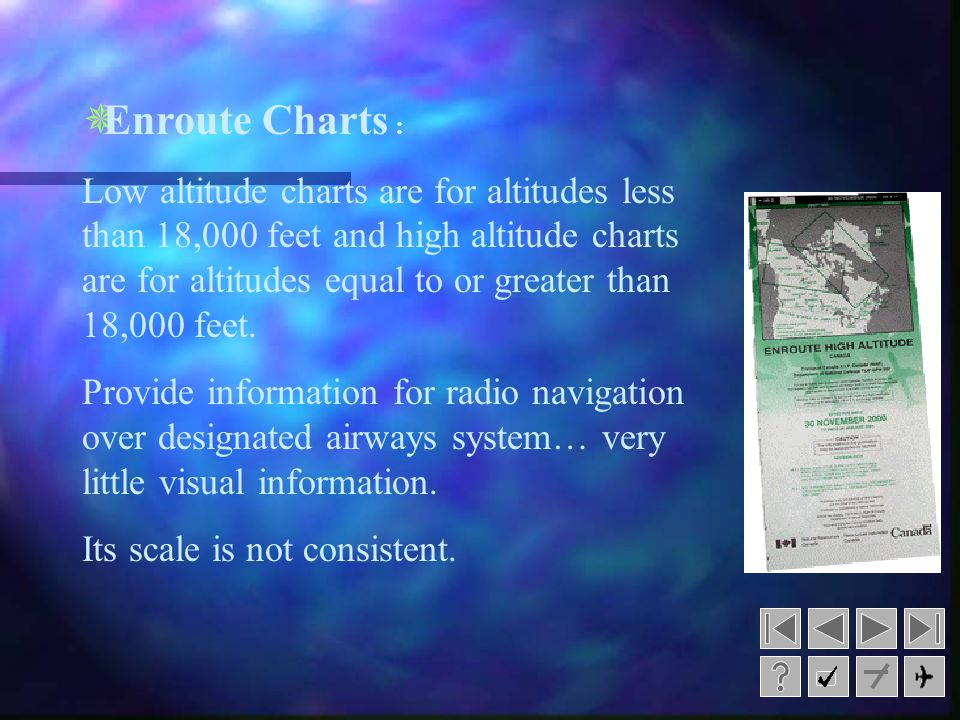 Enroute Charts :