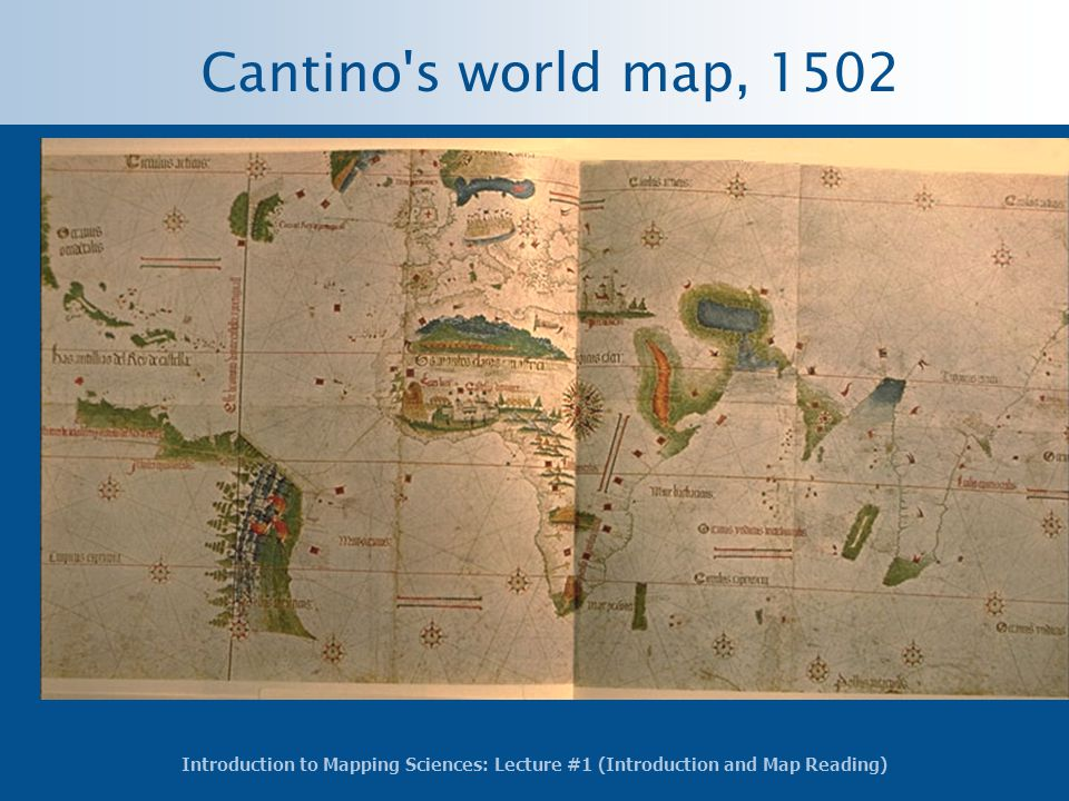 Cantino s world map, 1502