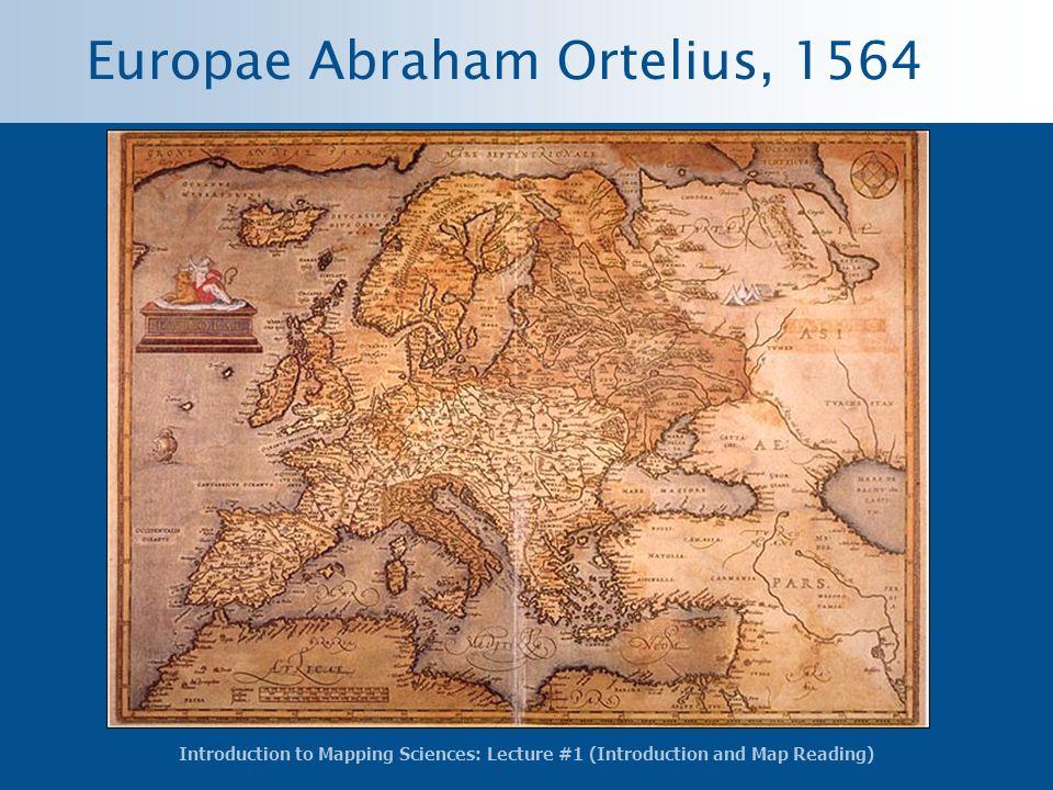 Europae Abraham Ortelius, 1564