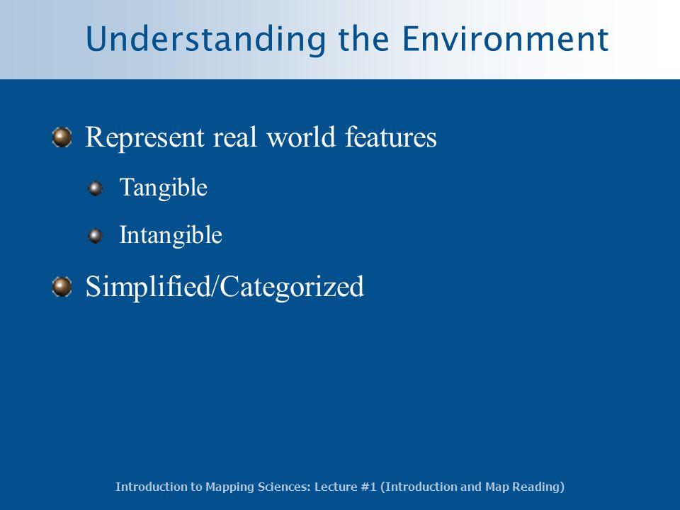 Understanding the Environment