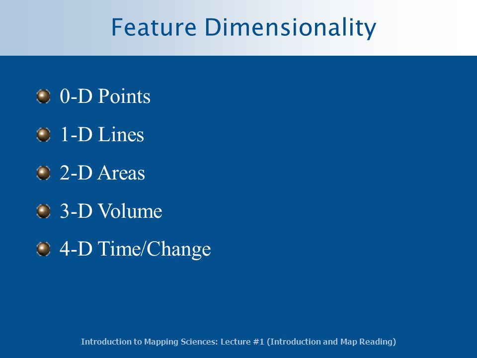 Feature Dimensionality