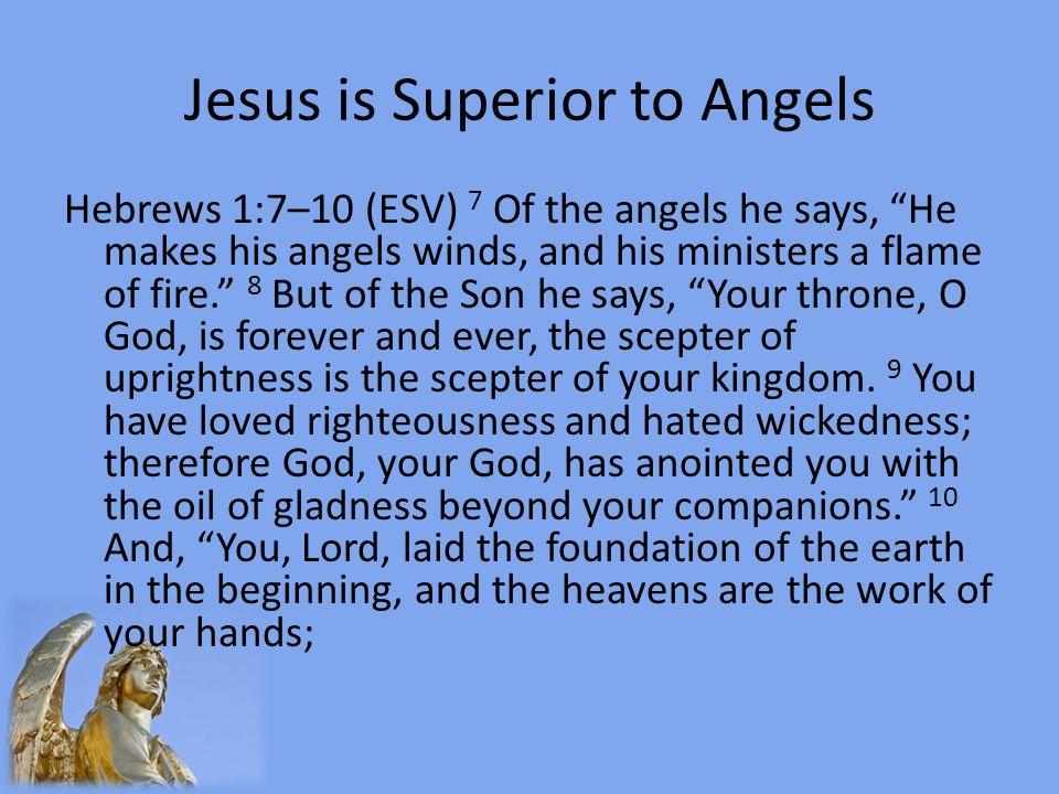 Jesus is Superior to Angels