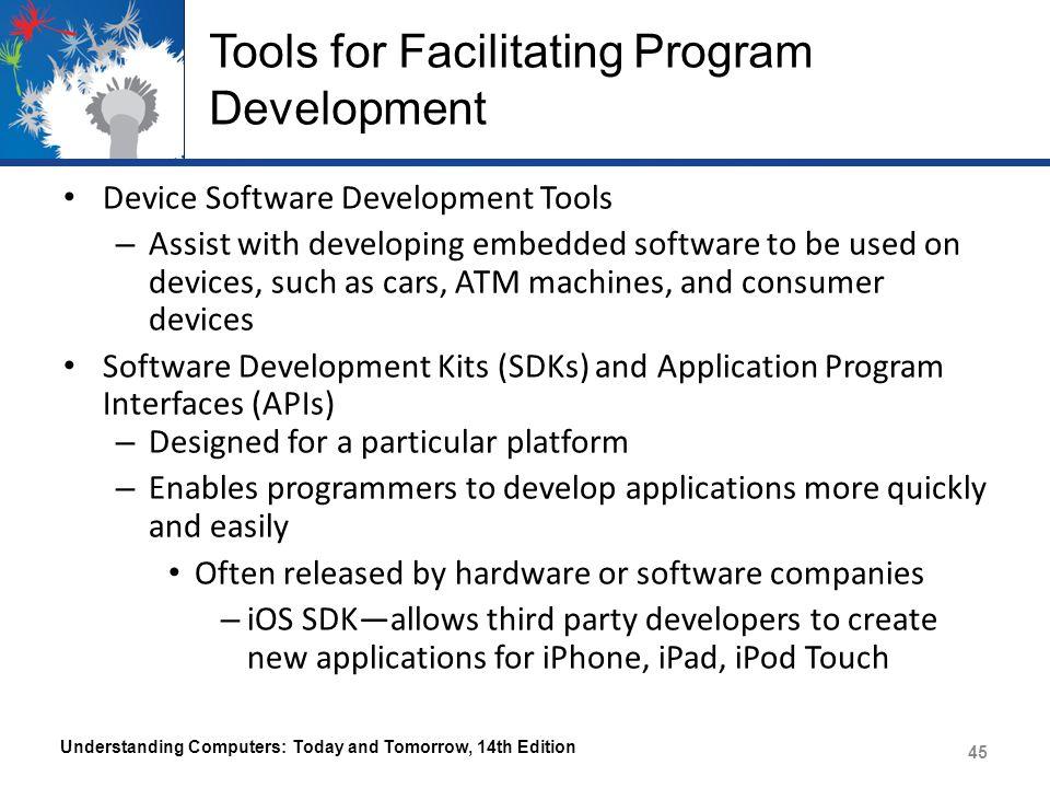 Tools for Facilitating Program Development