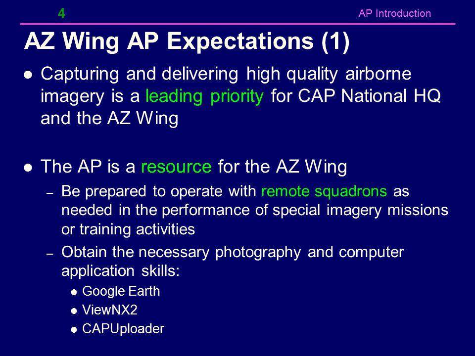 AZ Wing AP Expectations (1)