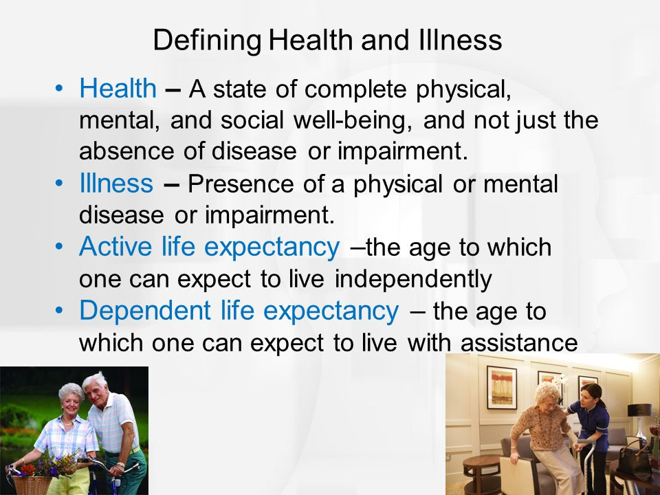 Defining Health and Illness