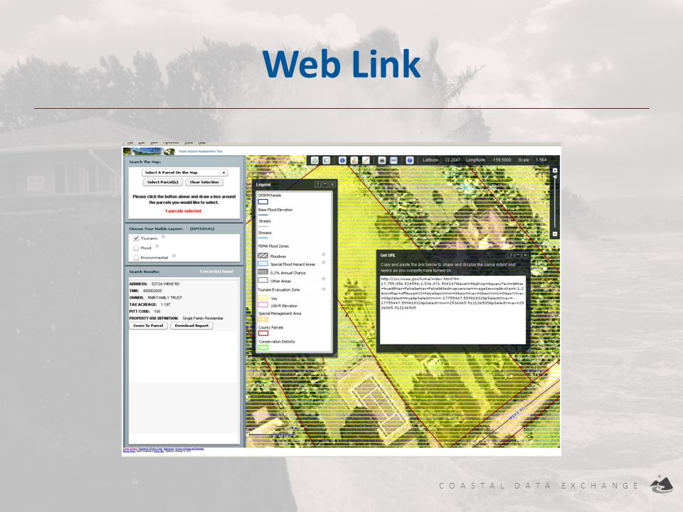 Web Link Current Map view web link