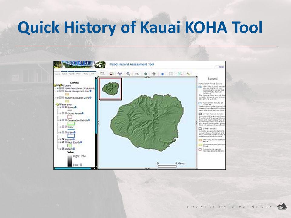 Quick History of Kauai KOHA Tool