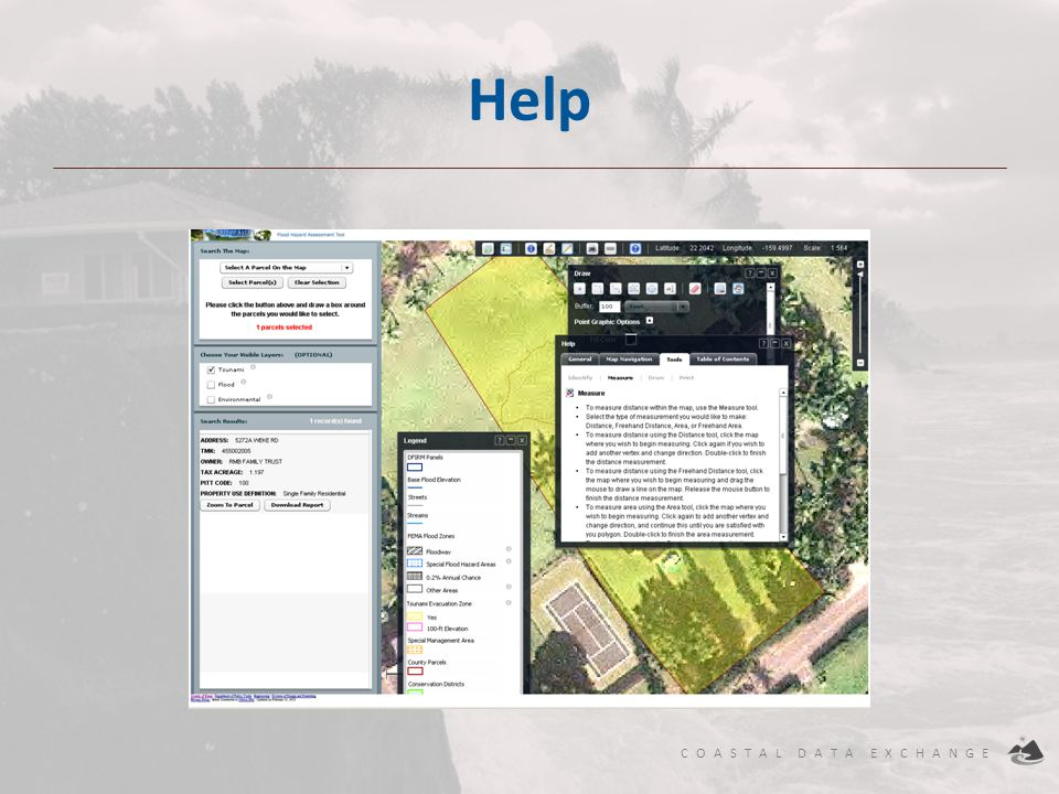 Help Excellent Help for all tools and layers