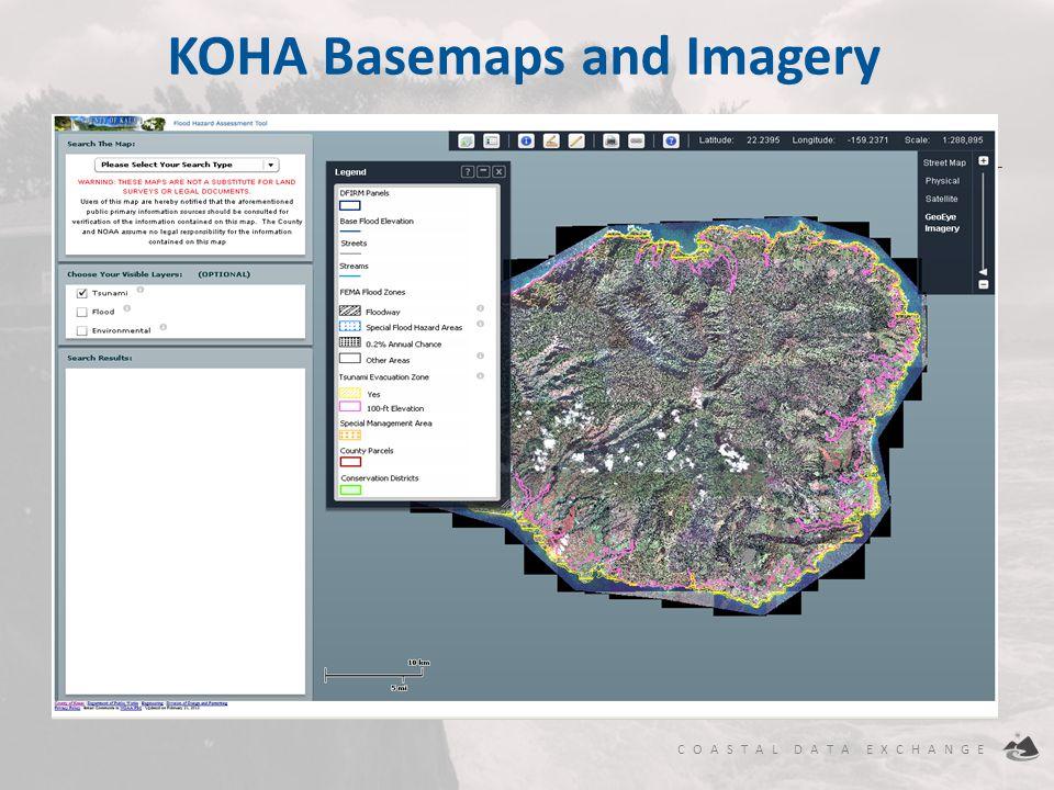 KOHA Basemaps and Imagery