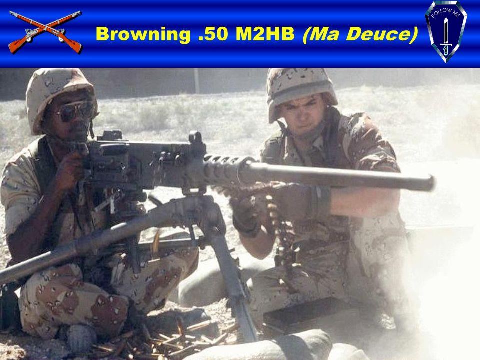 Browning .50 M2HB (Ma Deuce)