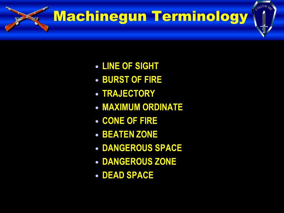 Machinegun Terminology
