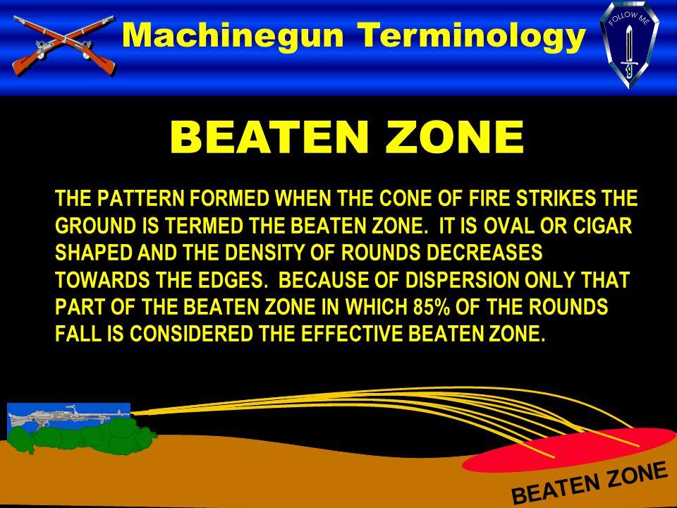 BEATEN ZONE Machinegun Terminology