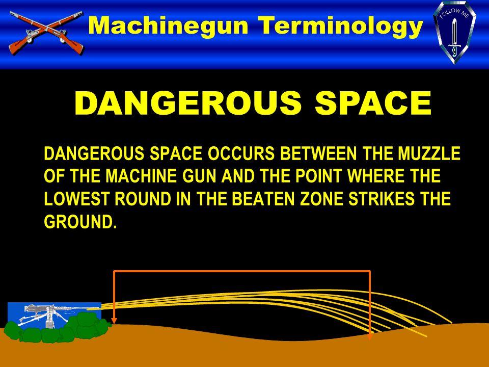 DANGEROUS SPACE Machinegun Terminology