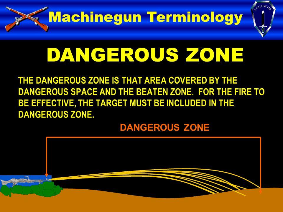 DANGEROUS ZONE Machinegun Terminology