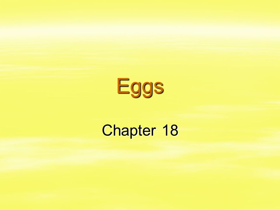 Eggs Chapter 18