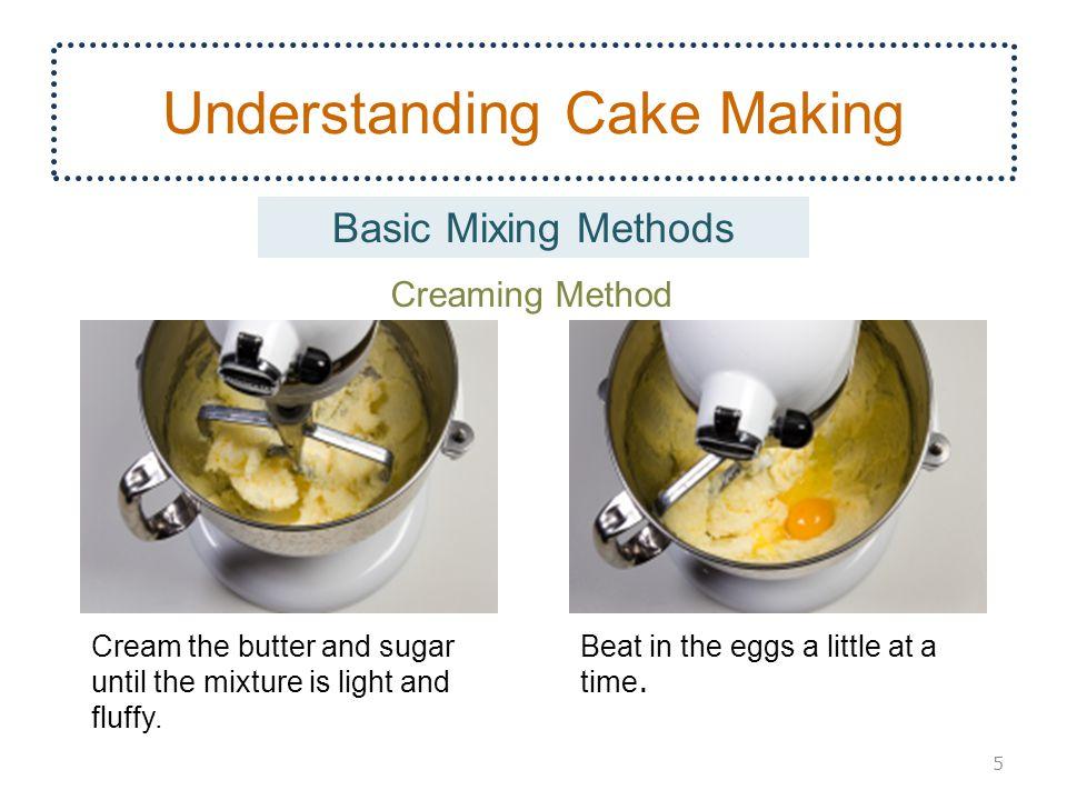 Understanding Cake Making