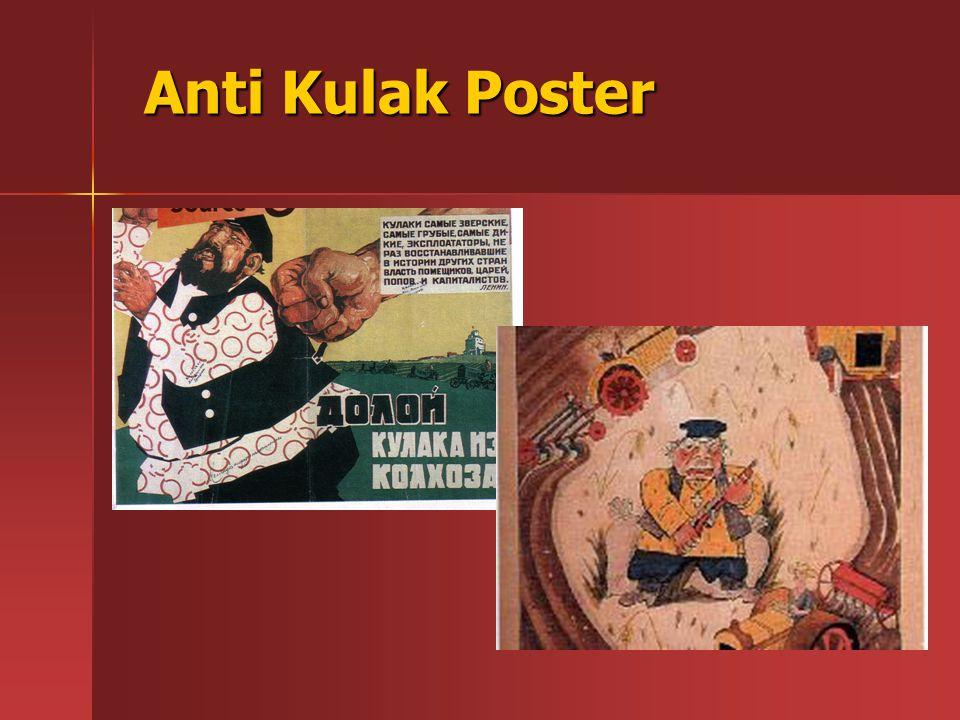 Anti Kulak Poster