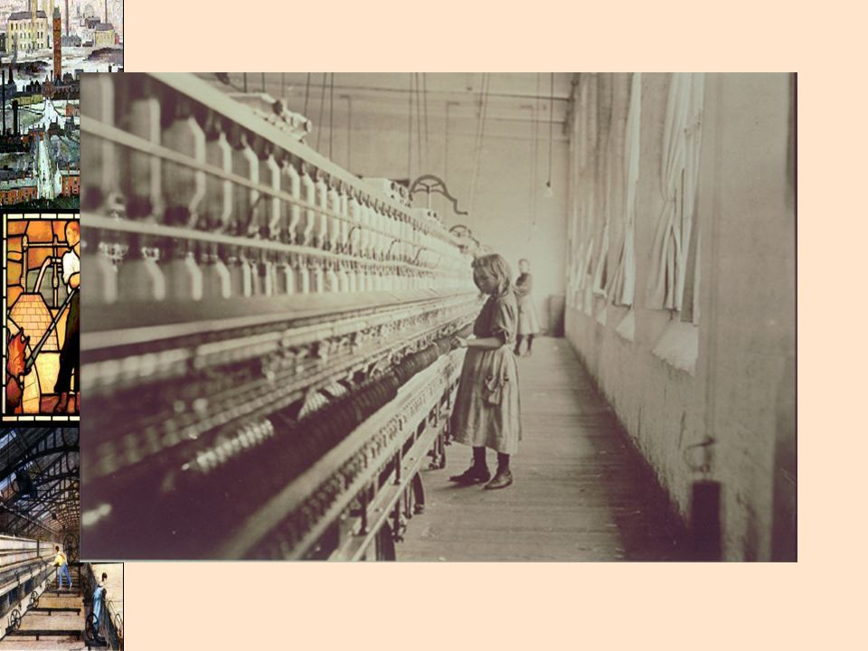 Girl working in a textile mill of some sort