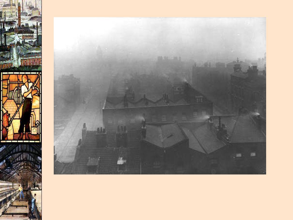 London through the haze c.1910 (smog)